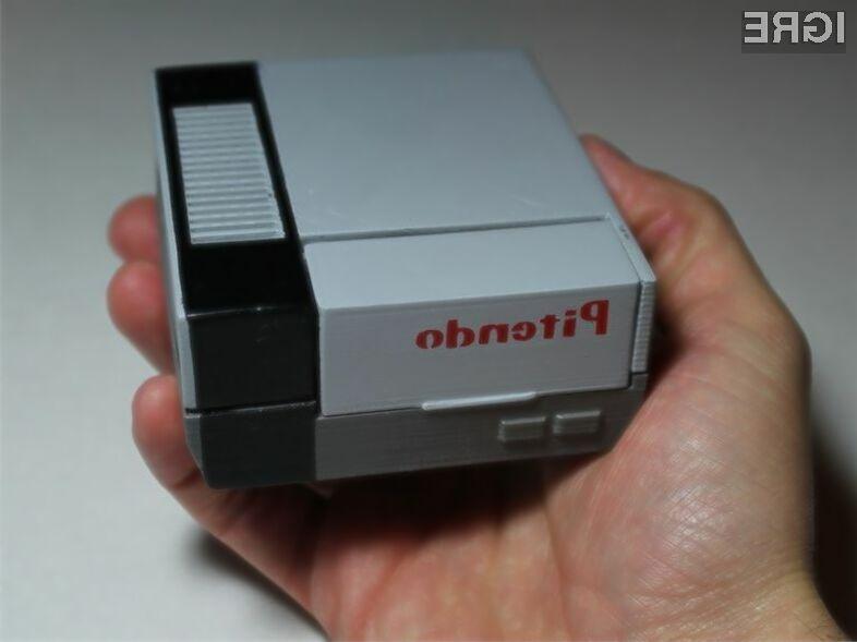 Miniaturni emulator za iger legendarne konzole NES Pitendo vas bo takoj prevzel.