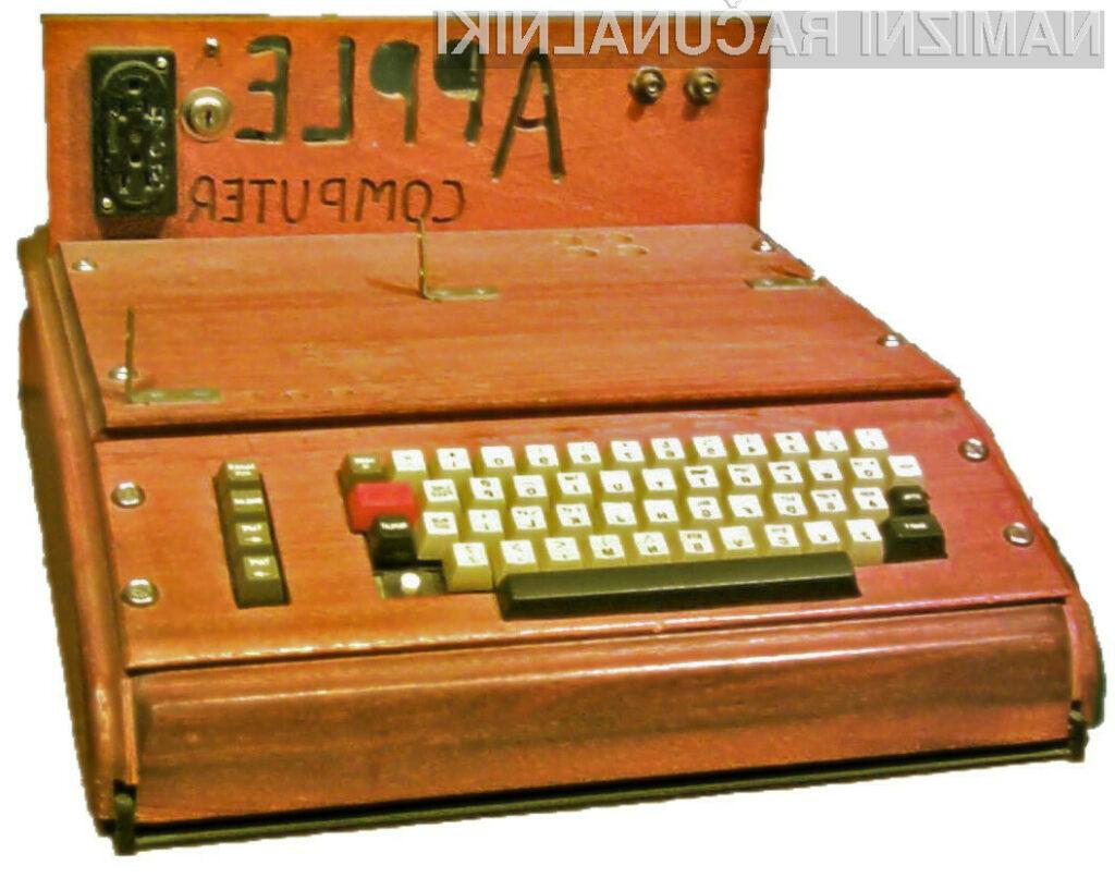 Računalniški sistem Apple-1 se še vedno prodaja po vrtoglavih cenah!