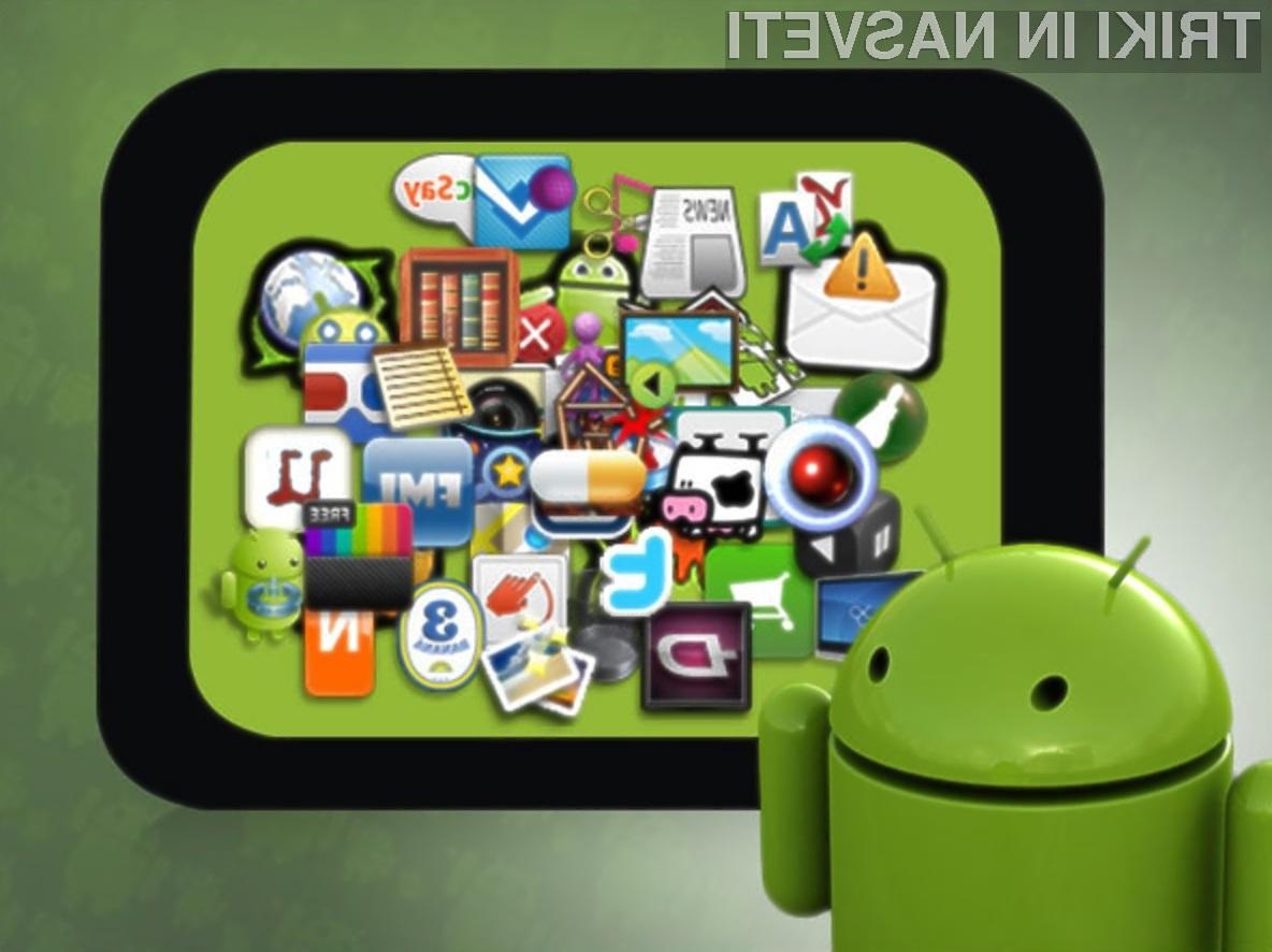 Uporabniki mobilnih naprav Android trenutno posegajo po aplikacijah, ki zvišujejo njihovo funkcionalnost in uporabnost.