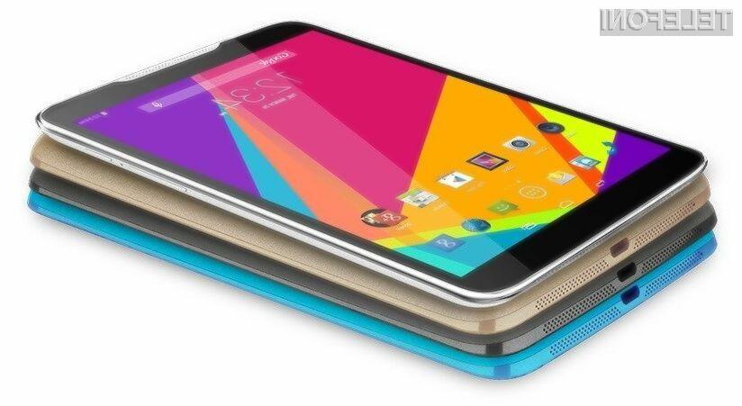 7-palčni zaslon se odlično prilega pametnemu mobilnemu telefonu.