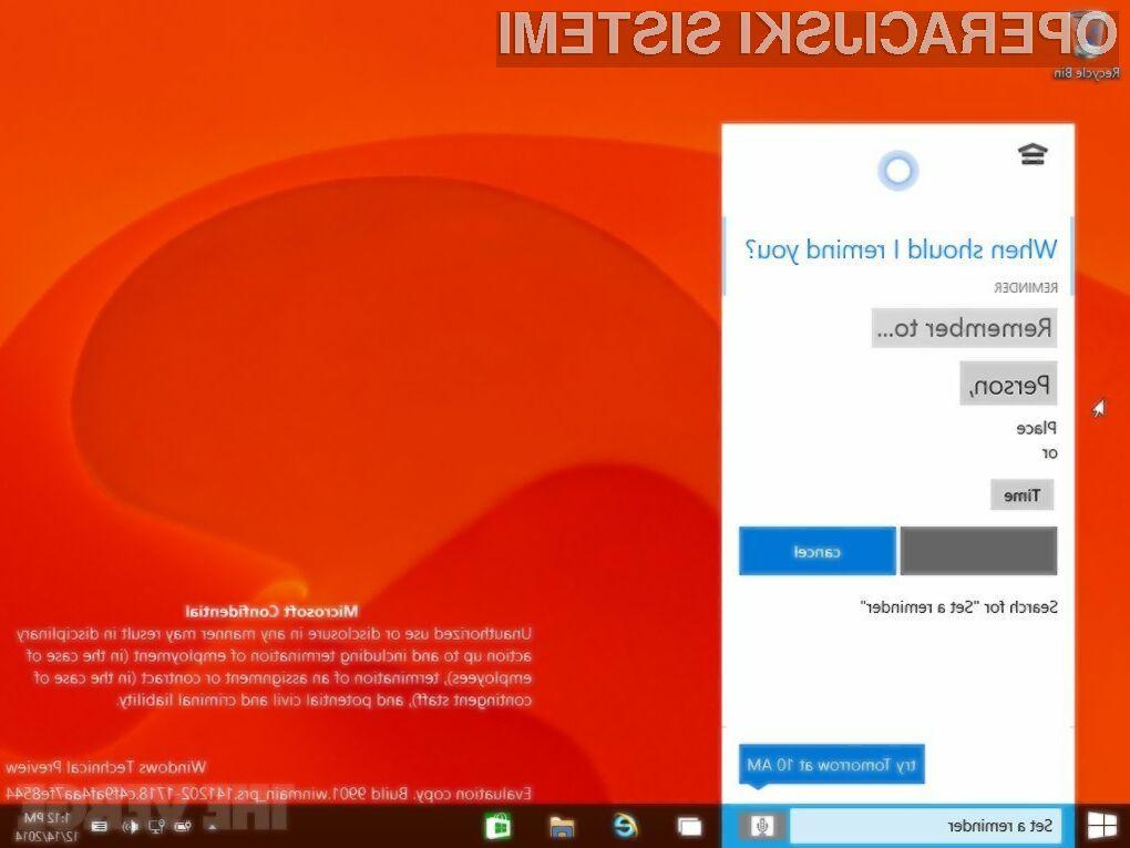 Windows 10 naj bi na račun inovativnosti povsem spremenil način uporabe osebnih računalnikov!