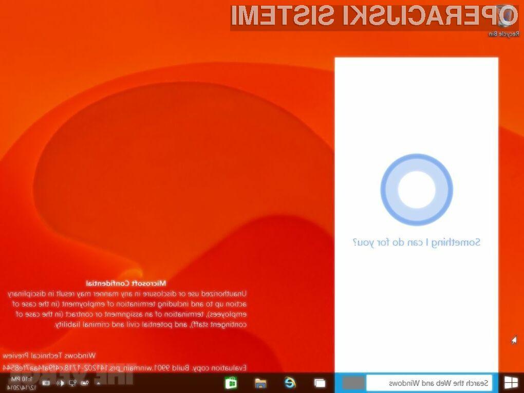 Tehnično poskusno različico operacijskega sistema Windows 10 so uporabniki odlično sprejeli!