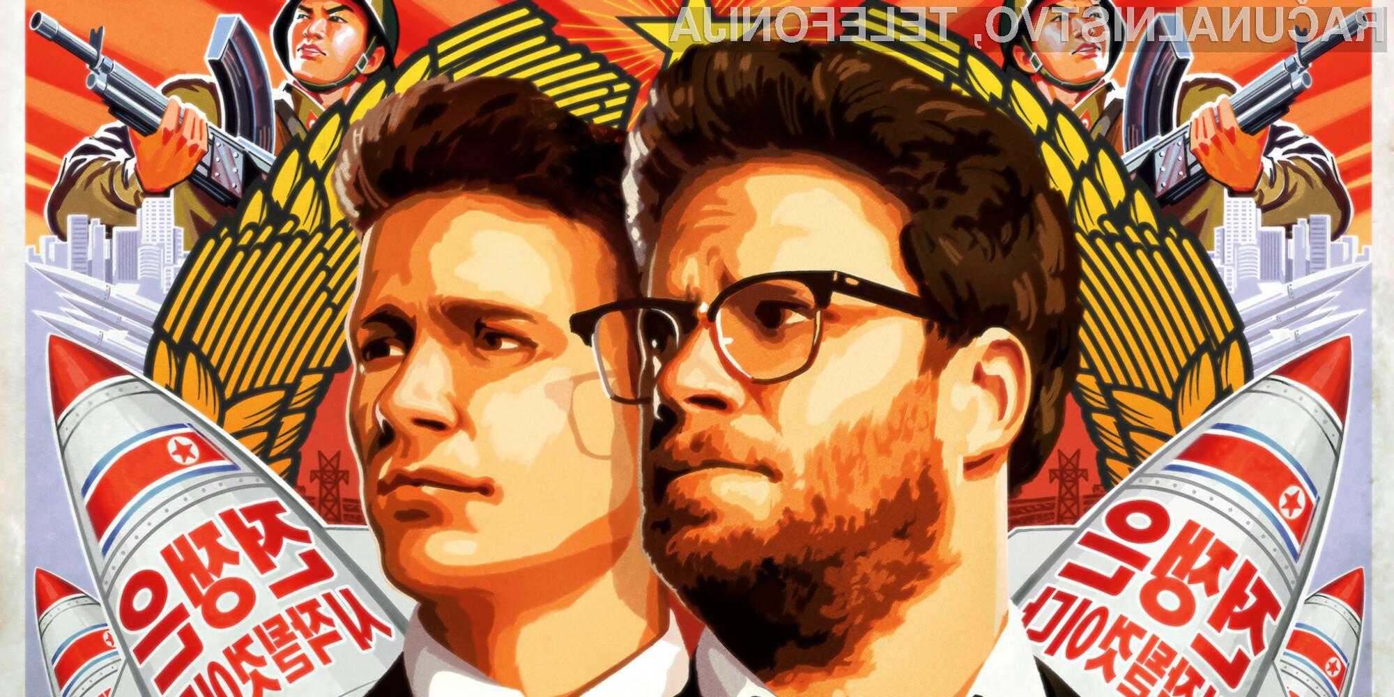 Kontroverzni film »The Interview« bi lahko luč sveta ugledal s pomočjo podjetja BitTorrent!