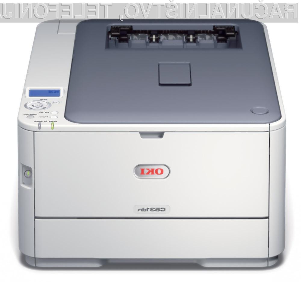 Barvni laserski tiskalnik OKI C531dn – IZKLICNA CENA 1 €!