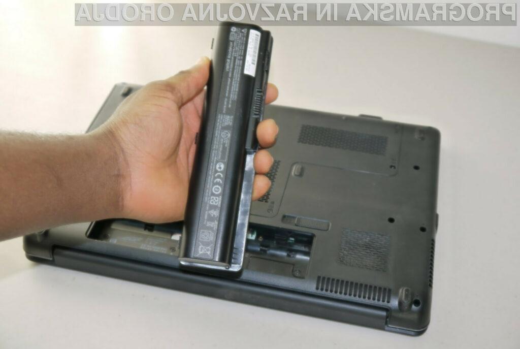 Kar 70 odstotkov baterij prenosnikov je še vedno dovolj zmogljivih, da jih je mogoče uporabiti kot napajalnik za svetilke LED.