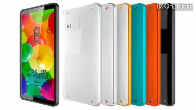 Modularni pametni mobilni telefon PuzzlePhone bo naprodaj že v prvi polovici leta 2015.