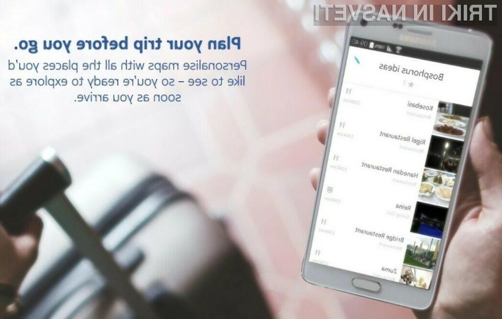 Nokijini zemljevidi HERE so odslej na voljo vsem uporabnikom mobilnih naprav Android na portalu Google Play.