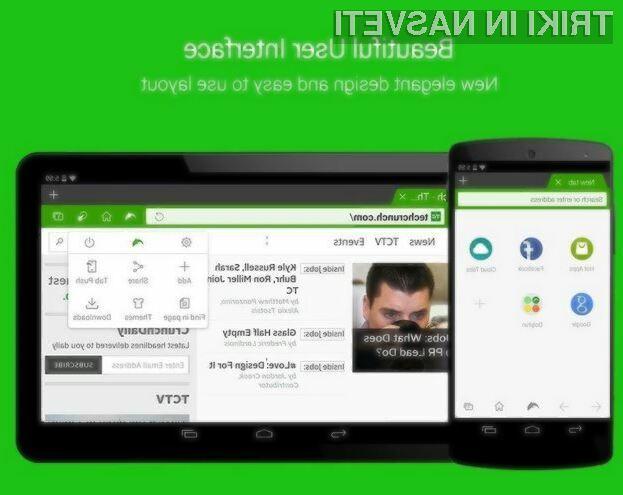 Najnovejša različica mobilnega brskalnika Dolphin podpira tehnologijo Flash tudi znotraj mobilnega operacijskega sistema Android 5.0 Lollipop.