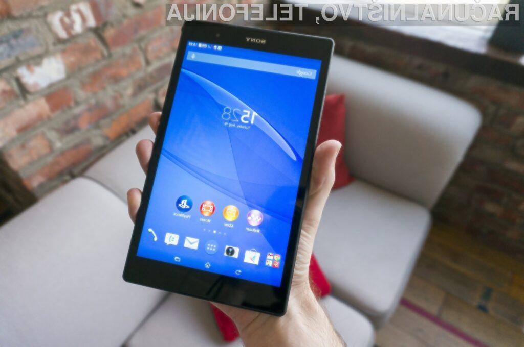 Sony Xperia Z3 Tablet Compact je po mnenju uporabnikov najboljši tablični računalnik leta 2014.