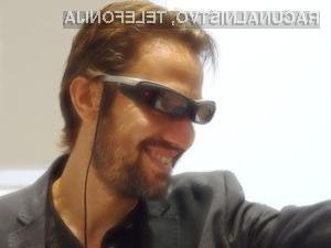 Modul Sony SmartEyeglass bo mogoče uporabljati v navezi z vsemi očali na trgu!