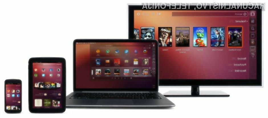 Prvi tablični računalnik z mobilnim operacijskim sistemom Ubuntu naj bi bil naprodaj še pred naslednjo pomladjo.
