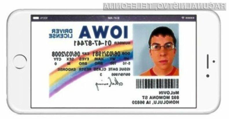 Vozniško dovoljenje kar na zaslonu pametnega mobilnega telefona!