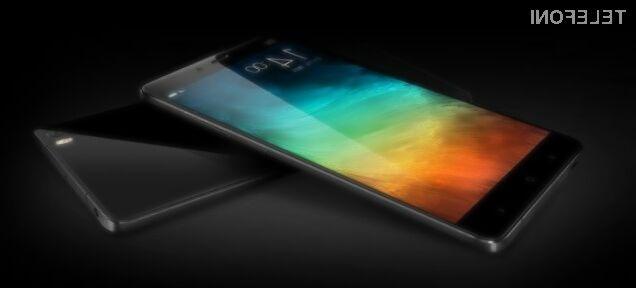 Pametni mobilni telefon Xiaomi Mi Note bo zlahka prepričal tudi najzahtevnejše!