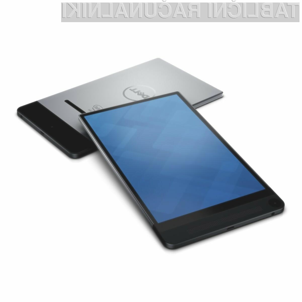Dell Venue 8 7840 je na račun izjemno kompaktne oblike kot nalašč za prenašanje!