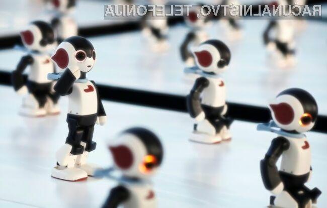 Izjemen sinhroni ples 100 robotov
