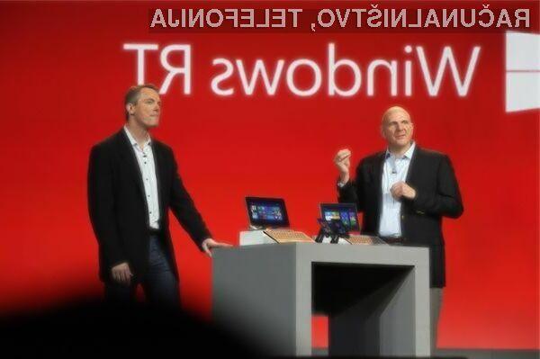 Čeprav bodo uporabniki naprav Windows RT dobili možnost nadgradnje na Windows 10, bodo ti lahko koristili samo del možnosti.