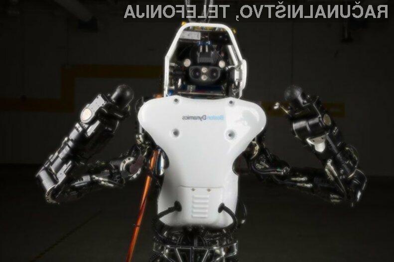 Gigantski robotski sistem Atlas za delovanje ne potrebuje biti priključen na električno omrežje!