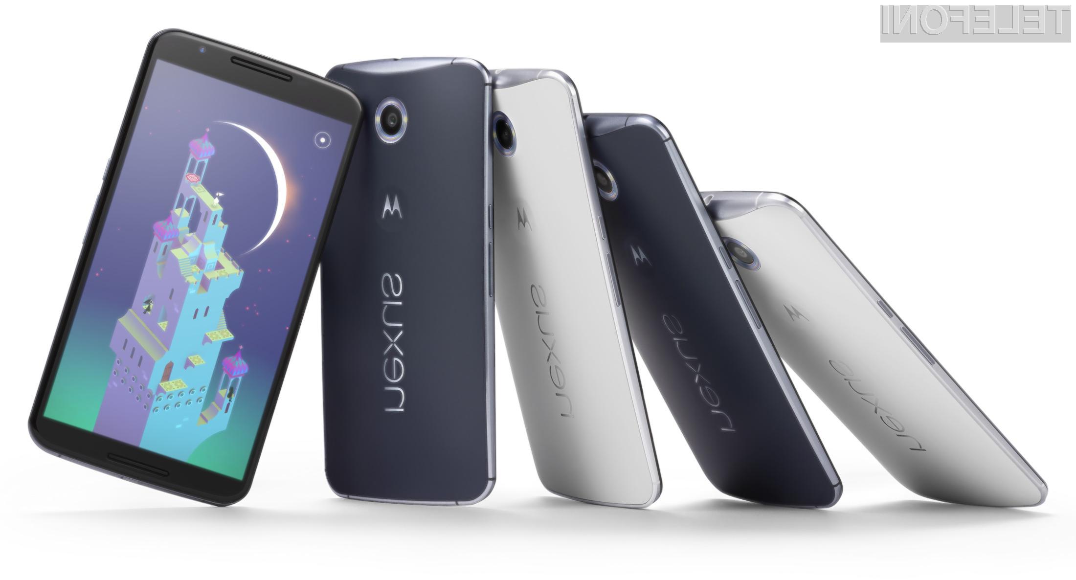 Nexus 6 trenutno najbolj »vroča roba« med mobilniki!