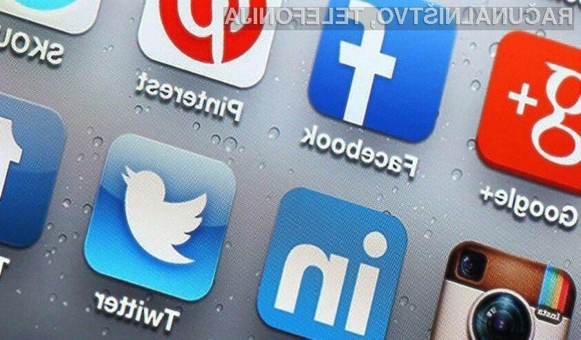 Družabno omrežje Facebook je v lanskem letu kot edino zabeležilo upad števila aktivnih uporabnikov.