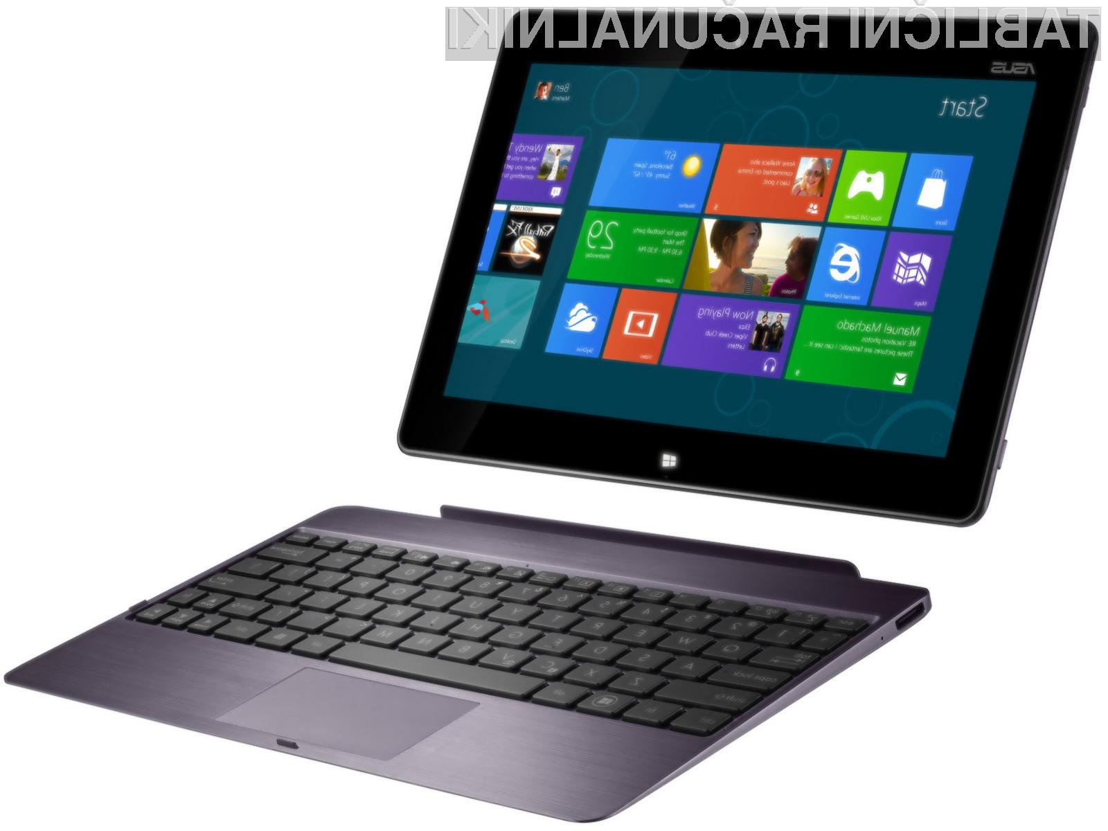 Proizvajalci tablic Microsoftu za Windows 8.1 odštejejo največ preračunanih 13 evrov.