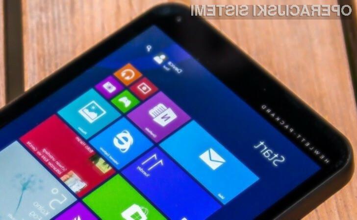 Za koriščenje prednosti namizja operacijskega sistema Windows 10 bo potrebno kupiti napravo z zaslonom večjim od 7-palcev.