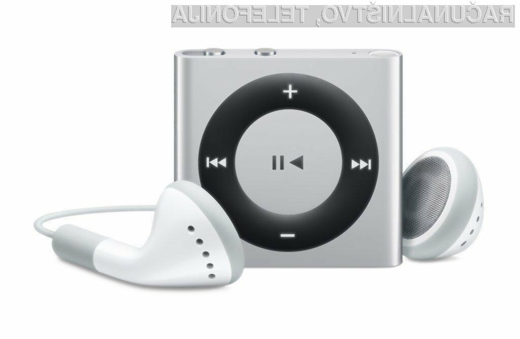 Miniaturni predvajalnik glasbe iPod Shuffle naj bi bil iz prodajnih polic trgovin širom sveta umaknjen še pred naslednjim poletjem.