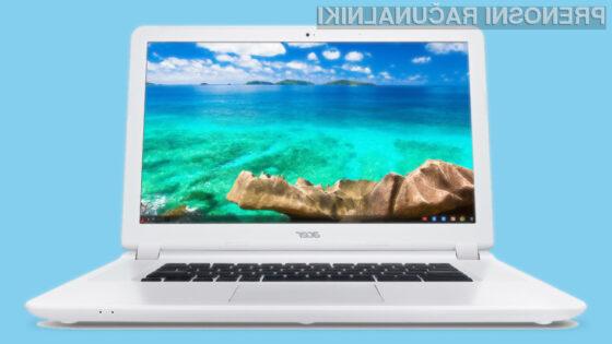 Prenosnik Acer Chromebook 15 s 15,6-palčnim zaslonom visoke ločljivosti bo zagotovo šel v prodajo kot za stavo!