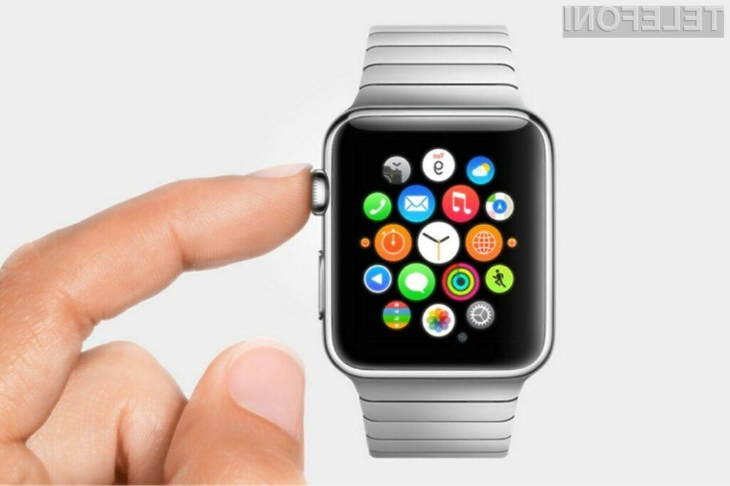 Pametno ročno uro Apple Watch bo mogoče kupiti že aprila!