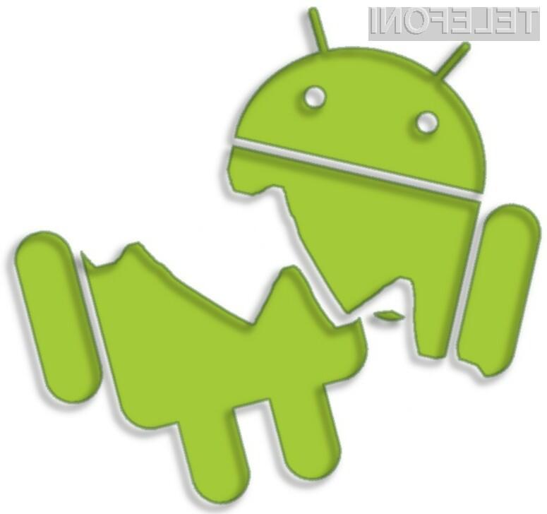 Uporabniki starejših mobilnih naprav Android lahko deskajo varno le z brskalnikom, ki ne uporablja pogona WebView.