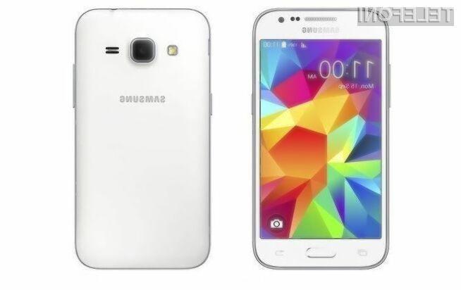 Pametni mobilni telefon Samsung J1 bo zlahka prepričal tudi nekoliko zahtevne uporabnike.