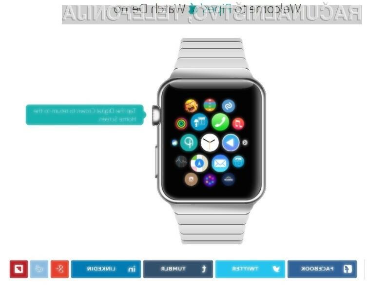 Simulator Applove pametne ročne ure Watch se v praksi obnese več kot odlično!