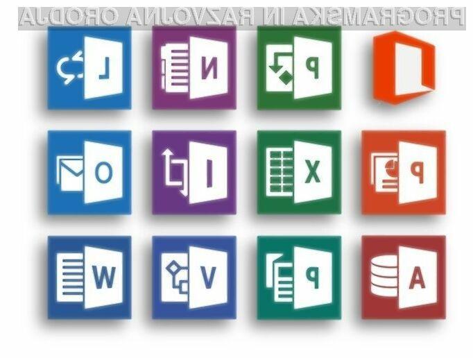 Pisarniški paket Office 2016 naj bi bil nared še pred pričetkom letošnje jeseni.