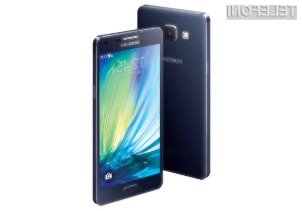 Mobilnika Samsung Galaxy A3 in A5 za relativno malo denarja ponujata veliko!