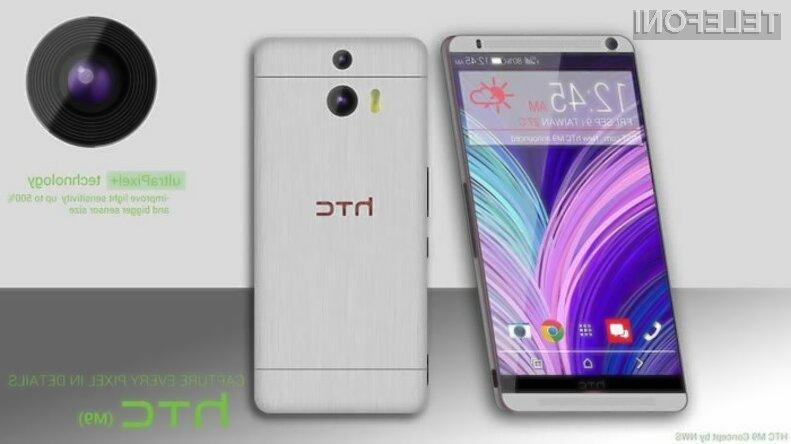 Pametni mobilni telefon HTC ONE M9 naj bi zlahka prepričal najzahtevnejše!