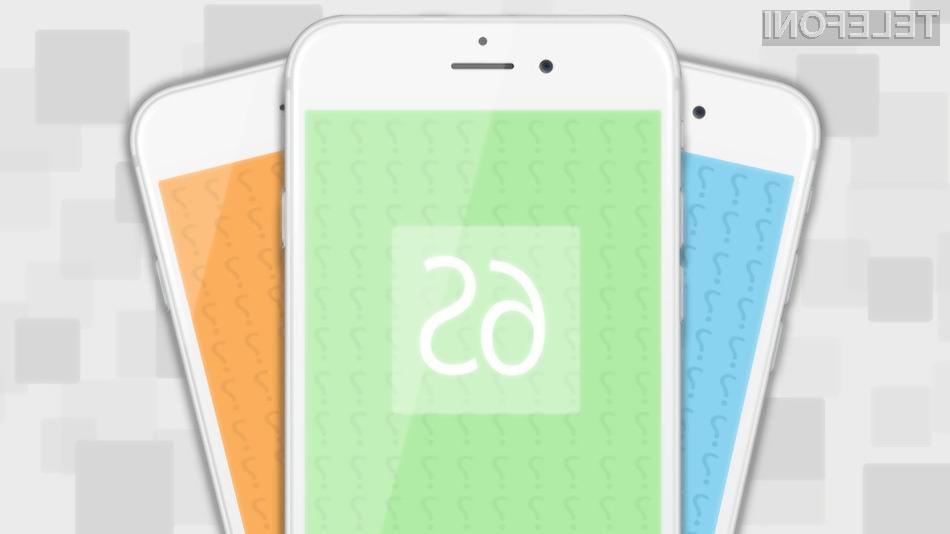 Mobilnik iPhone 6S naj bi bil na račun podvojenega sistemskega pomnilnika opazno hitrejši v primerjavi z njegovim predhodnikom.