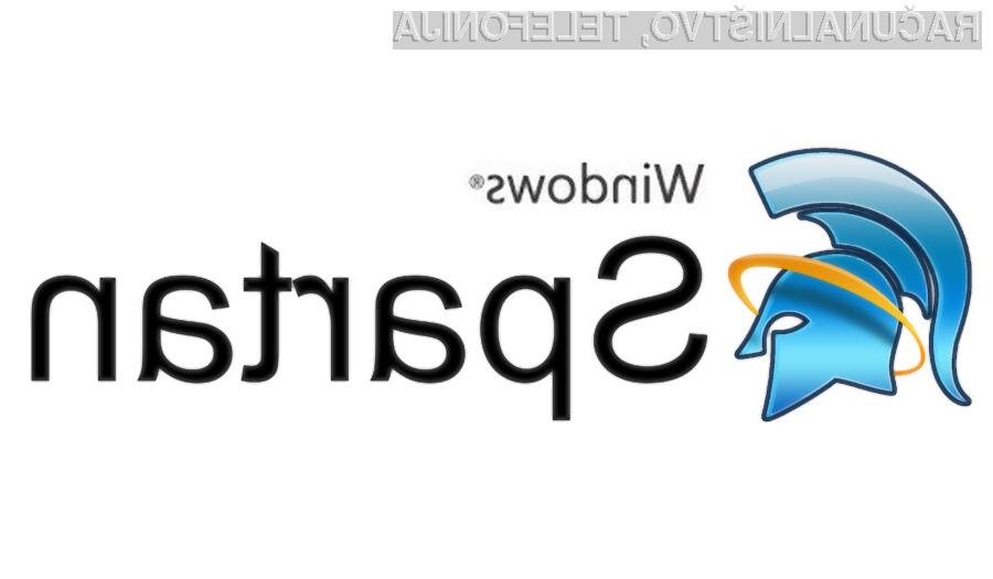 Spletni brskalnik »Spartan« bi lahko bil na voljo tudi za Windows 7.