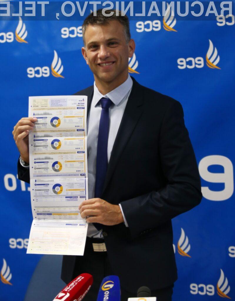 Pregledni računi energentov podjetja ECE
