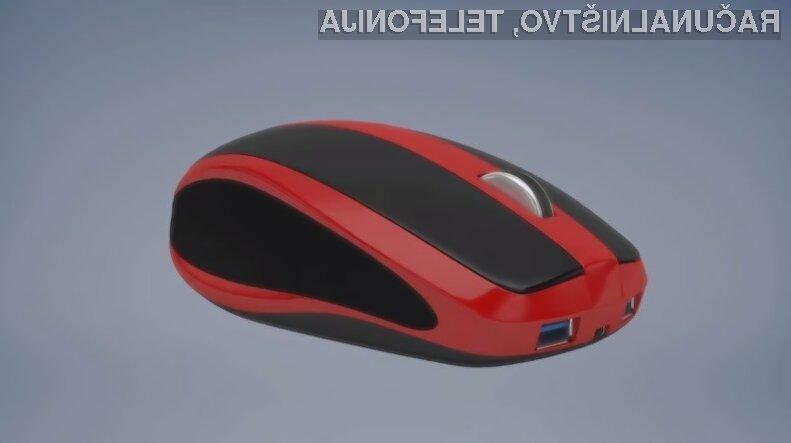 Miniaturni osebni računalnik Mouse-Box nam bo olajšal marsikatero opravilo!