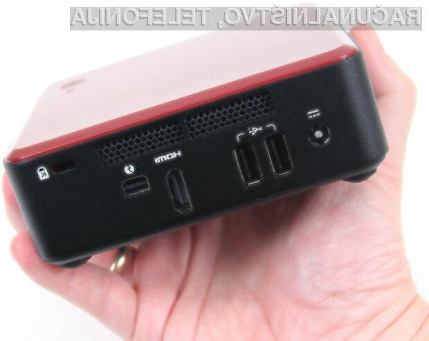 Prenovljeni osebni računalnik Intel NUC bo zlahka kos tudi najzahtevnejšim nalogam.