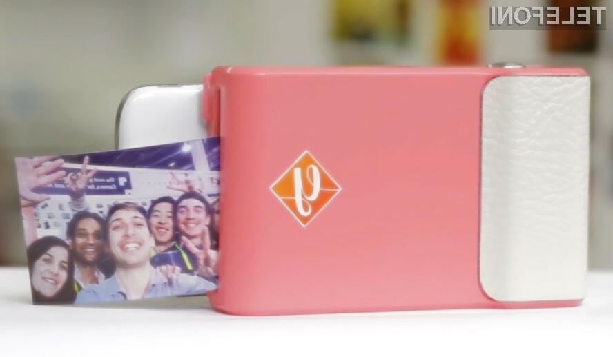 Prynt spremeni mobilnik v Polaroid