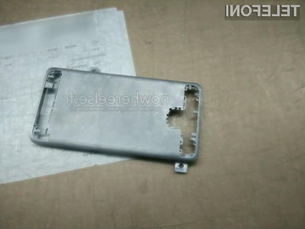 Kot vse kaže bo ohišje prihajajočega mobilnika Galaxy S6 izdelano v celoti iz kovine!