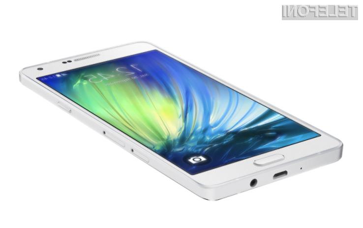 Pametni mobilni telefon Samsung Galaxy A7 bo ponujal odličen kompromis med ceno in zmogljivostjo!