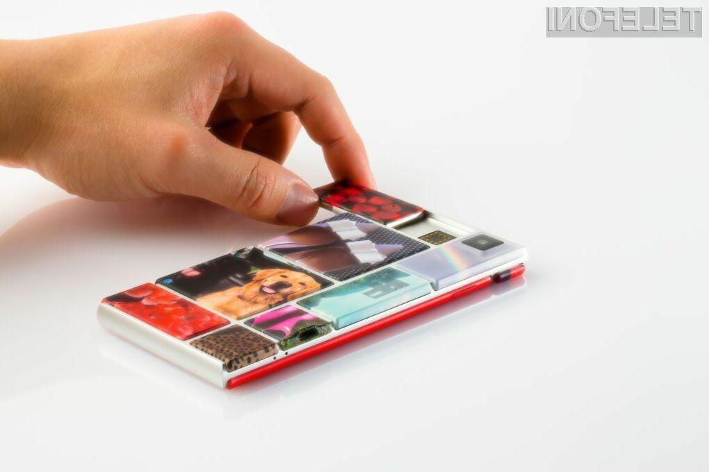 Modularni pametni mobilni telefon Google Ara bo naprodaj že v drugi polovici letošnjega leta!