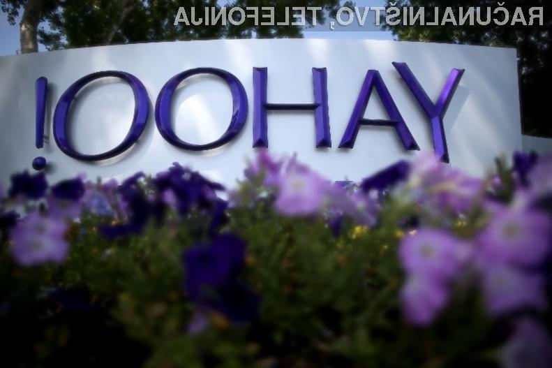 Yahoo! se poslavlja. Prevzel naj bi ga Verizon