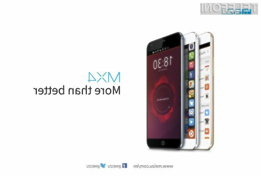Ubuntu Phone še za mobilnik Meizu MX4!