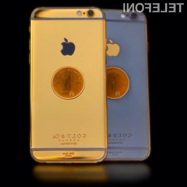 Mobilnik iPhone 6 vrednosti 11.050 evrov bo mogoče preizkusiti le v hotelu Burj Al Arab!