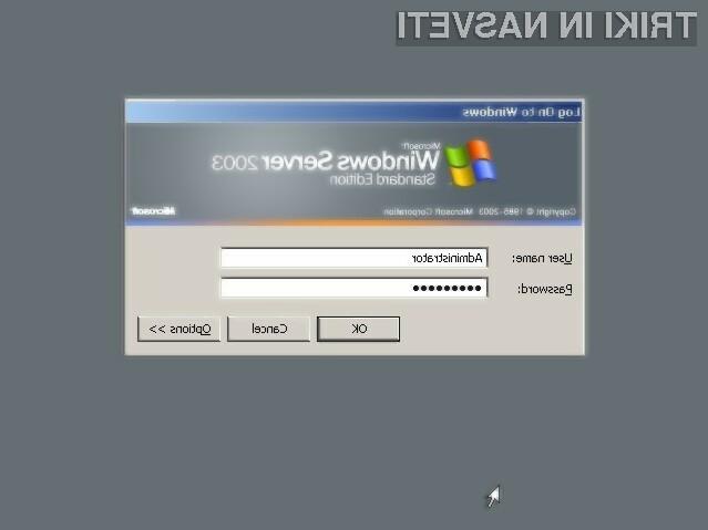 Strežniški operacijski sistem Windows Server 2003 bo varno uporabljati le še do 14. julija 2015.