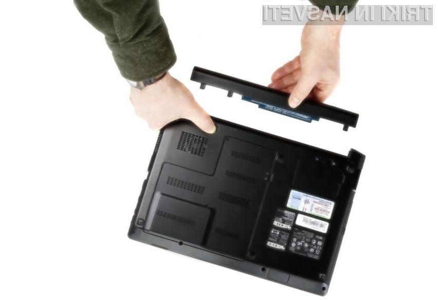 Z enostavnimi »prijemi« lahko občutno podaljšamo avtonomijo delovanja prenosnega računalnika!