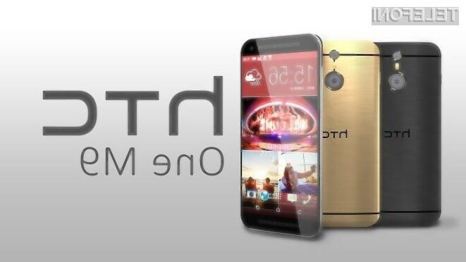 Supermobilnik HTC One M9 naj bi na prodajne police trgovin zašel že konec marca.