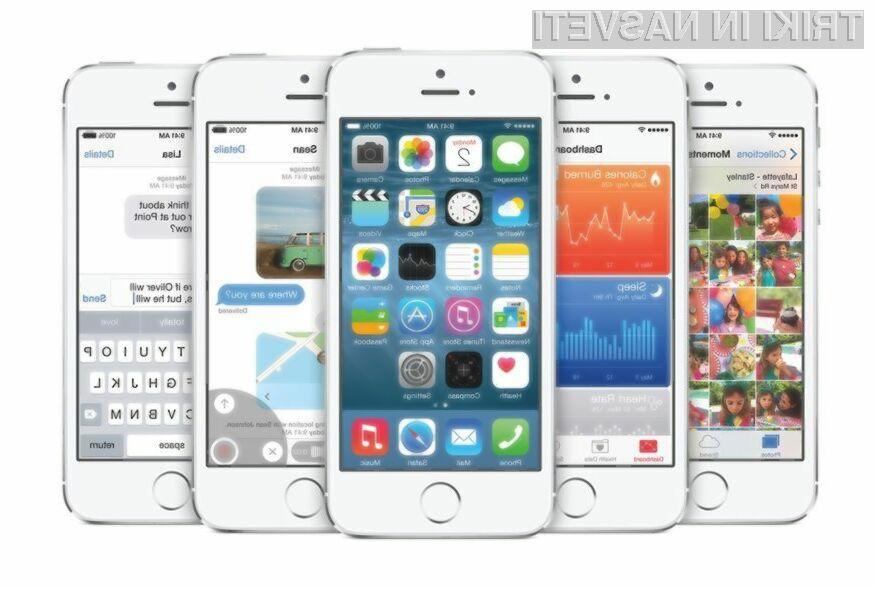 Novi iOS naj bi poleg hitrosti še občutno povečal razpoložljivi prostor za shranjevanje podatkov.